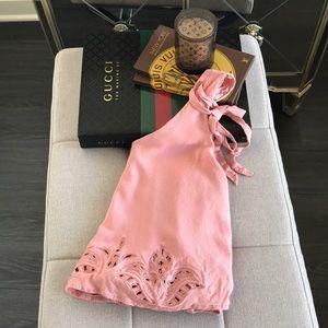 Lulu's Lush Brand Crepe Sleeveless Tank Top